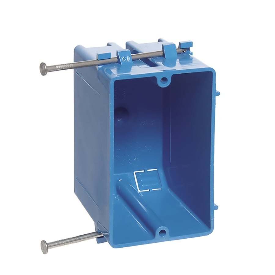 CARLON 1-Gang Plastic New Electrical Box