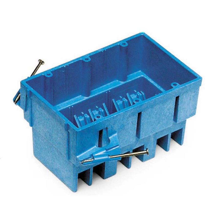 Electrical Wall Boxes : Shop carlon cu in gang plastic new work wall