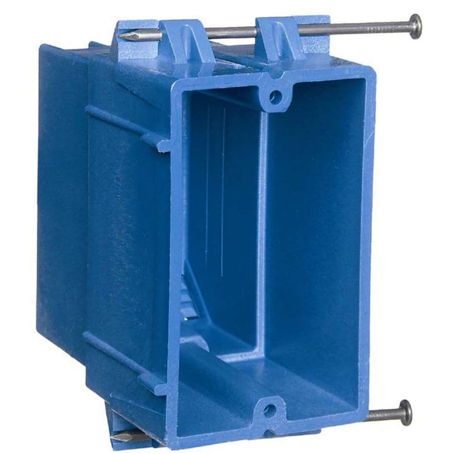 Pvc Electrical Boxes : Shop carlon gang plastic new electrical box at lowes
