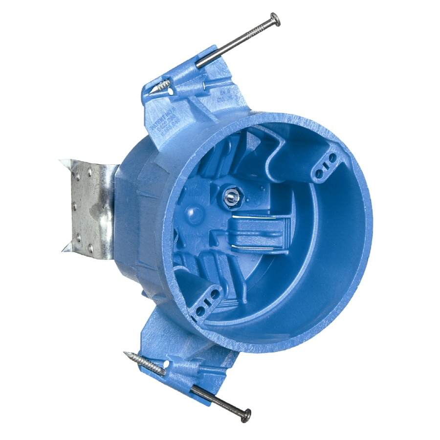 CARLON 25-cu in Plastic Ceiling Electrical Box