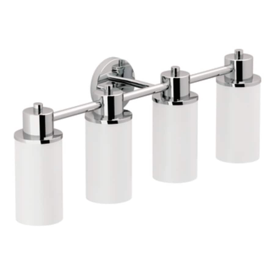 Moen Iso 4-Light Chrome Vanity Light