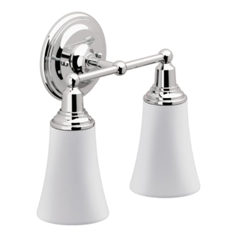 Moen Rothbury 2-Light Chrome Vanity Light