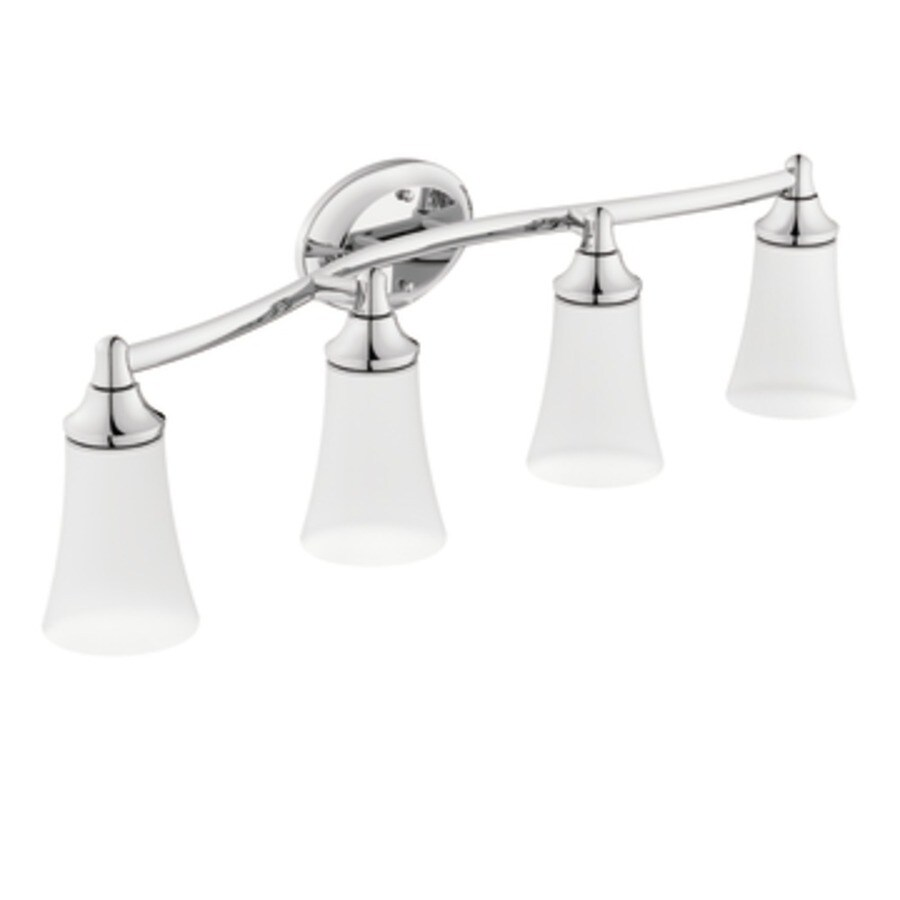 Moen Eva 4-Light Chrome Vanity Light
