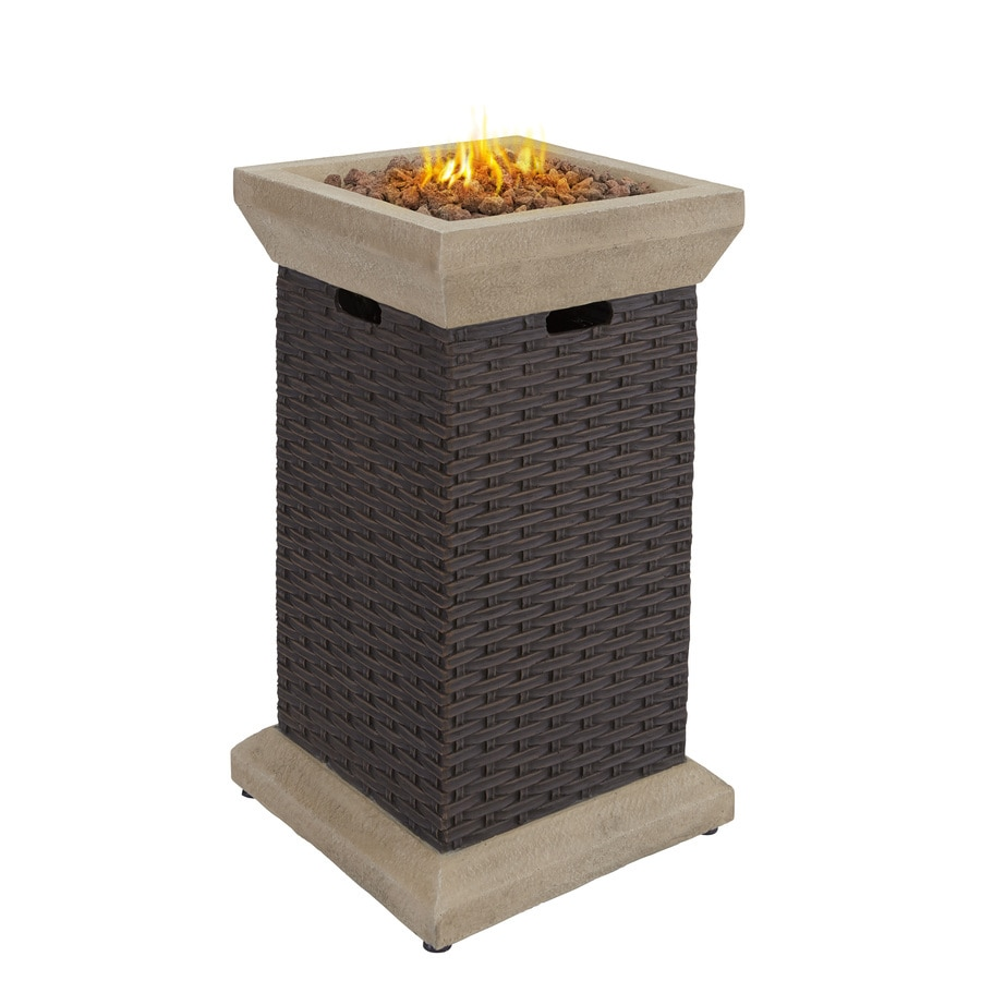 Shop Bond Somersville 19 3 In W 40 000 Btu Brown Composite