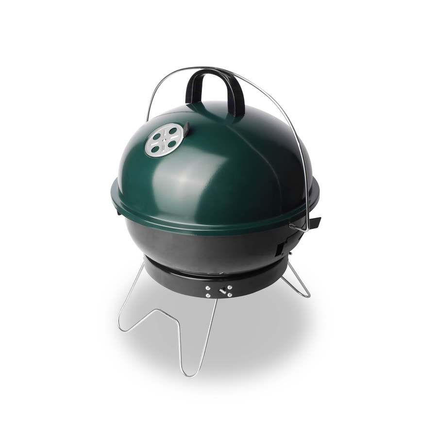 Bond 143-sq in Green Portable Charcoal Grill