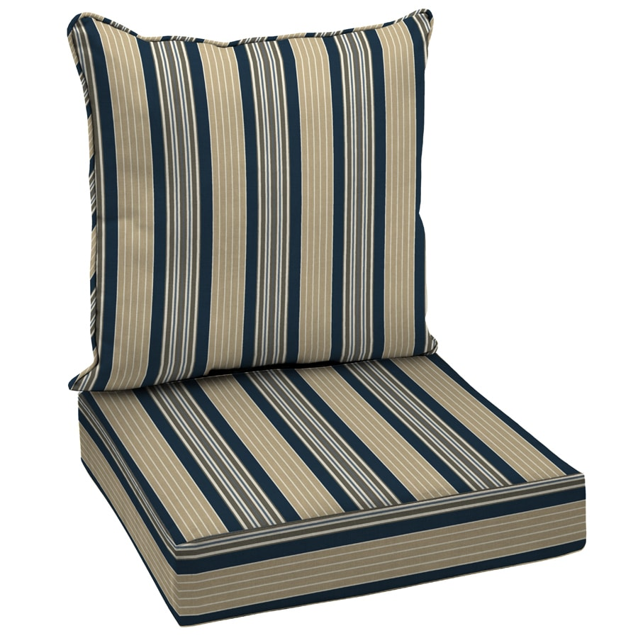 Shop Garden Treasures 46 1 2 L X 25 W Stripe Navy Blue