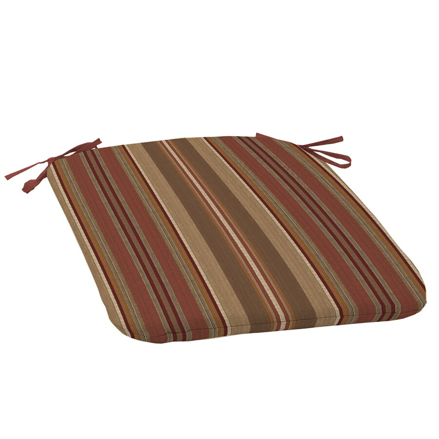 allen + roth Stripe Seat Pad For Universal
