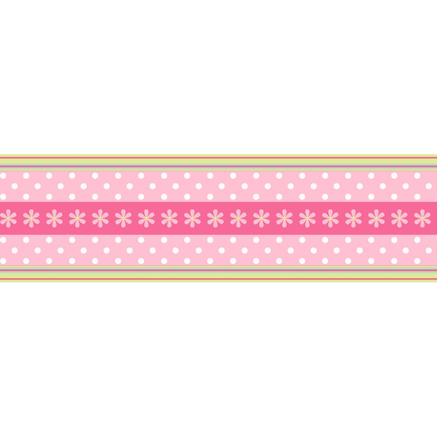 Inspired By Color Pink Strippable Paper Prepasted Classic Wallpaper