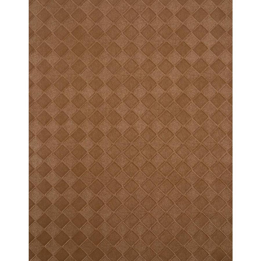 York Wallcoverings Copper Metallic Strippable Vinyl Unpasted Textured Wallpaper