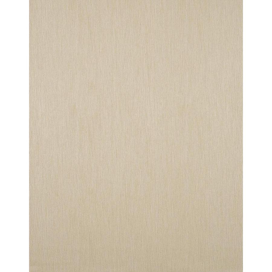 York Wallcoverings Tan Strippable Vinyl Unpasted Textured Wallpaper