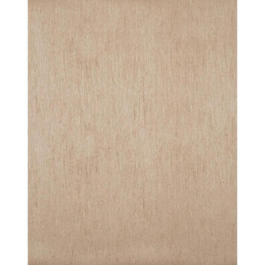 York Wallcoverings Peanut Shell Brown and Bronze Metallic Strippable Vinyl Unpasted Textured Wallpaper