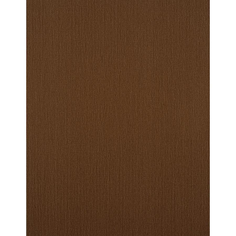 York Wallcoverings Dark Brown Strippable Vinyl Unpasted Textured Wallpaper