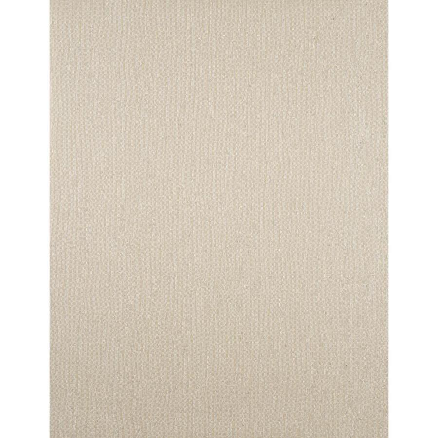 York Wallcoverings Pearled Champagne Strippable Vinyl Unpasted Textured Wallpaper