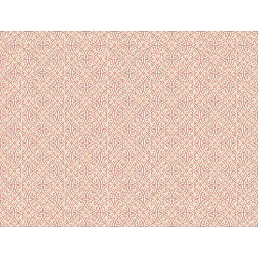 Inspired By Color Pink and Purple Peelable Paper Prepasted Classic Wallpaper