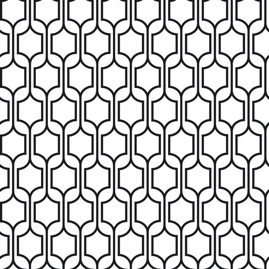 Inspired By Color Black and White Peelable Paper Prepasted Classic Wallpaper