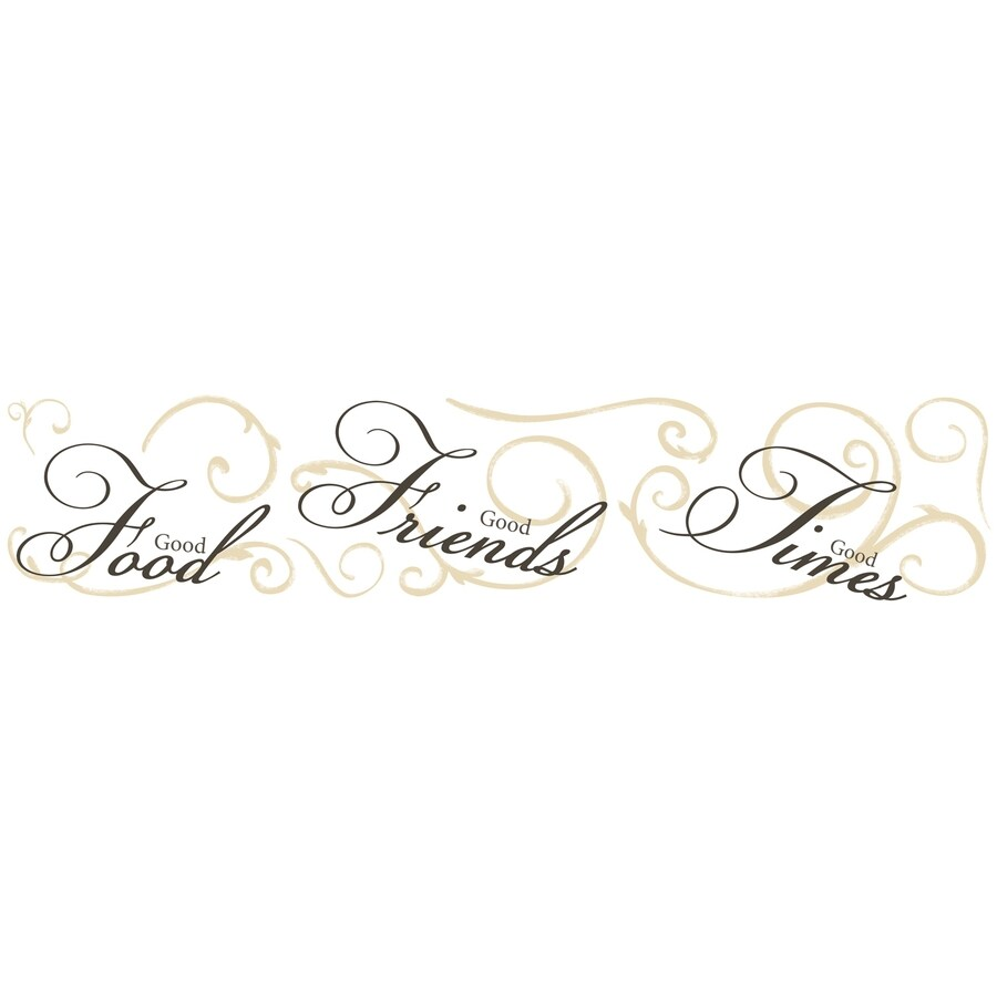 RoomMates 8-Pack Peel & Stick Miscellaneous Wall Stickers