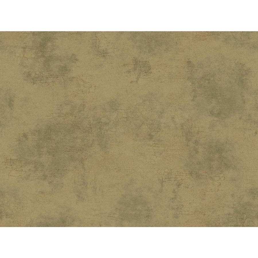 York Wallcoverings Almond and Gray Peelable Paper Prepasted Classic Wallpaper