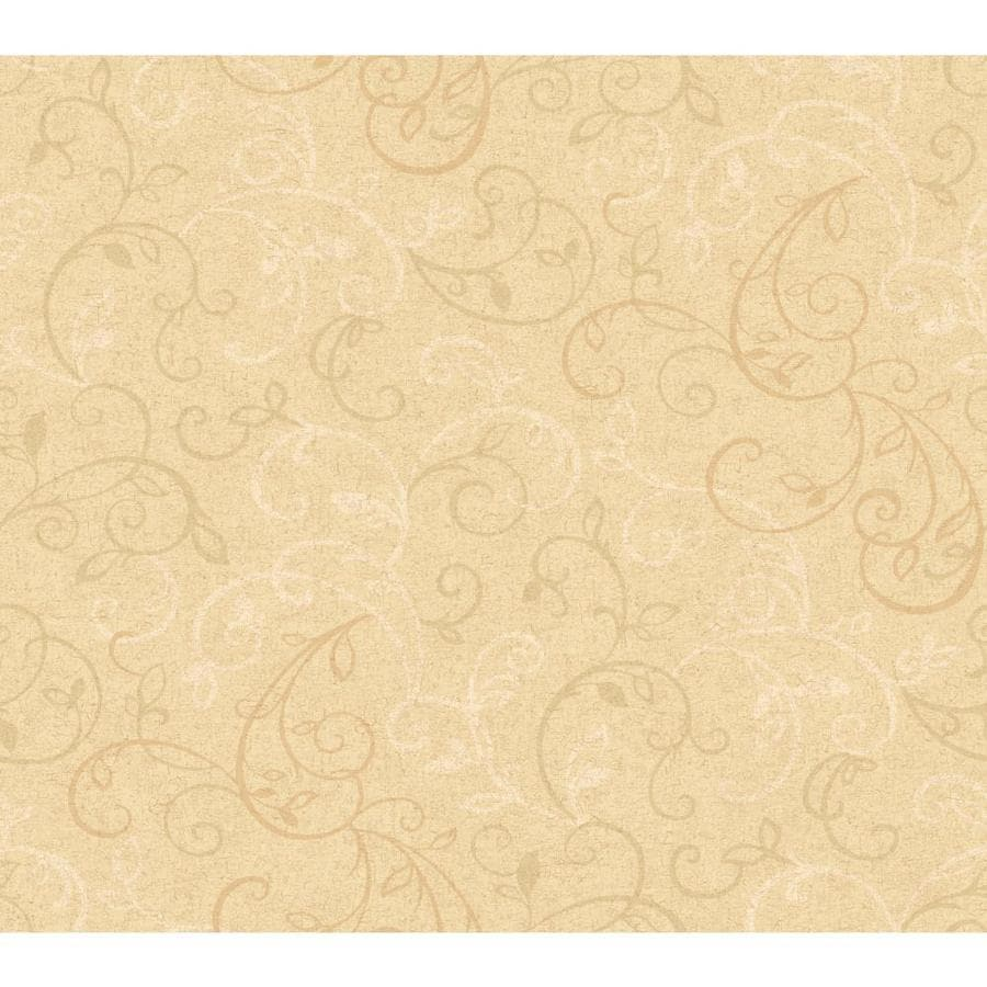Inspired By Color Tan Peelable Paper Prepasted Classic Wallpaper
