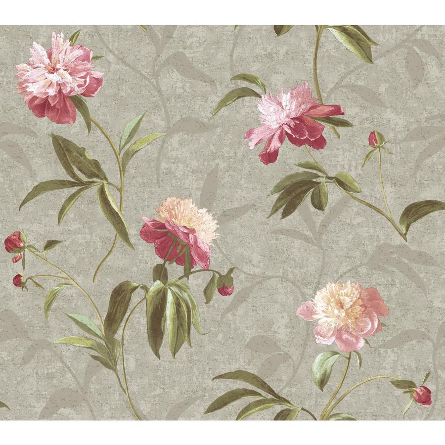 Inspired By Color Purple and Silver Peelable Paper Prepasted Classic Wallpaper