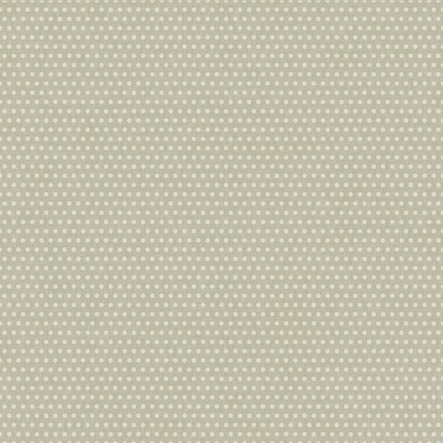 York Wallcoverings Cream and Silver Metallic Strippable Paper Prepasted Classic Wallpaper