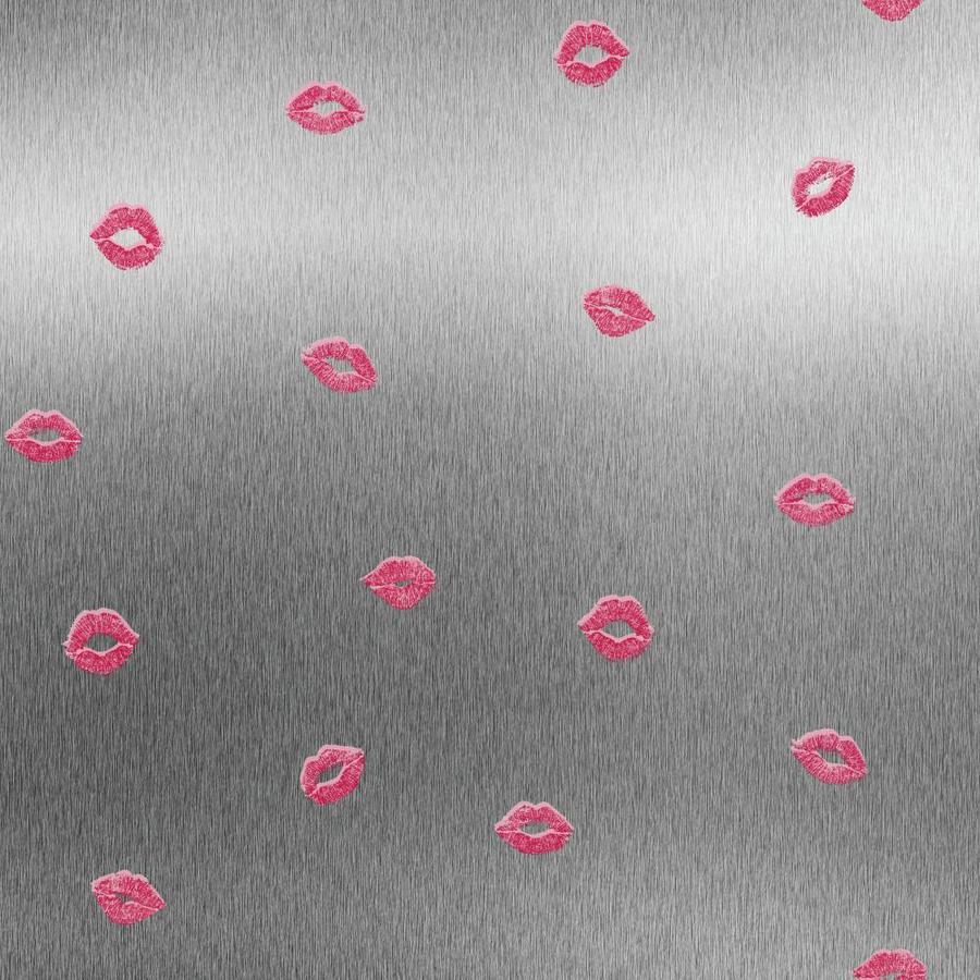 York Wallcoverings Pink and Red and Gold Glitter and White Strippable Paper Unpasted Classic Wallpaper