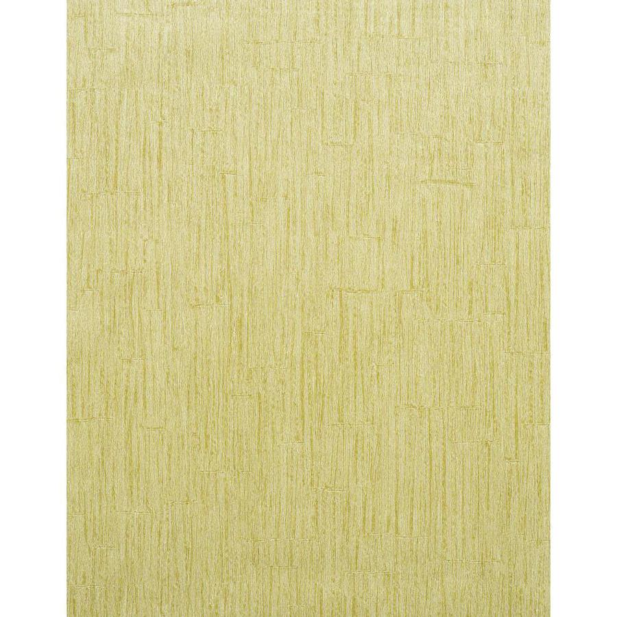York Wallcoverings Yellow Strippable Vinyl Unpasted Textured Wallpaper