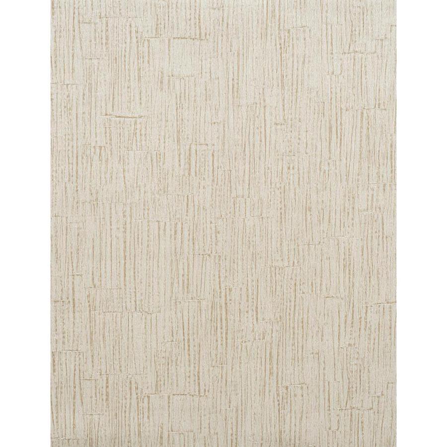 York Wallcoverings Light Gray Strippable Vinyl Unpasted Textured Wallpaper