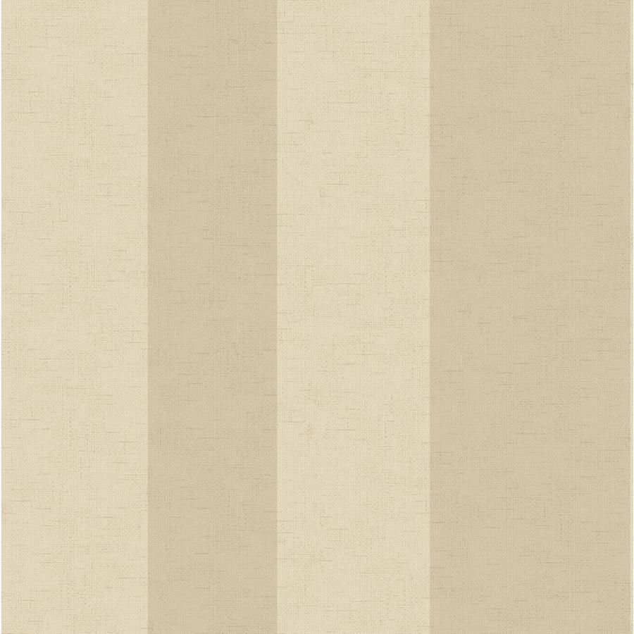 York Wallcoverings Almond and Beige Peelable Paper Prepasted Classic Wallpaper