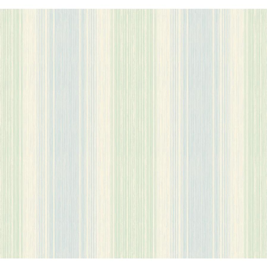 Inspired By Color Green, Blue and Cream Peelable Paper Prepasted Classic Wallpaper