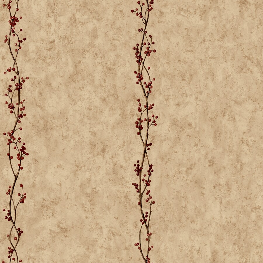 York Wallcoverings Khaki Strippable Paper Prepasted Classic Wallpaper