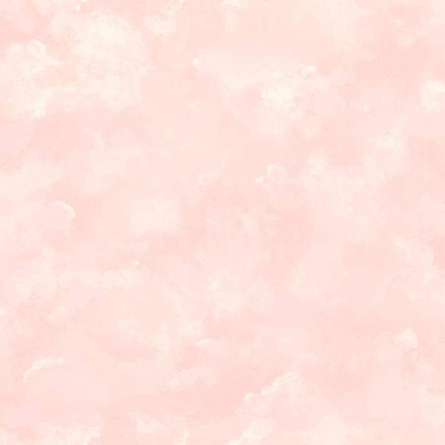 Inspired By Color Pink and White Peelable Paper Prepasted Classic Wallpaper