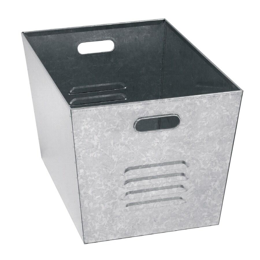 edsal 12.125-in W x 11-in H x 17.125-in D Steel Bin