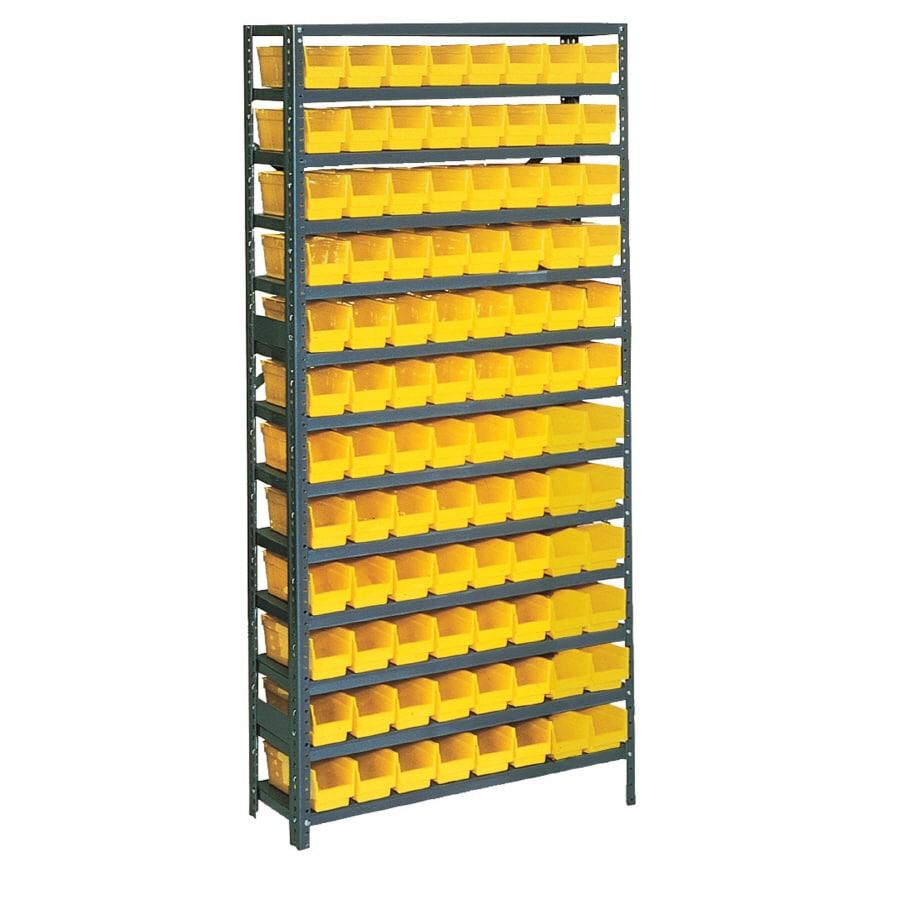 edsal 96-Pack Plastic Bin/Small Parts Storage