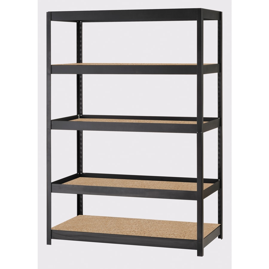 edsal 72-in H x  48-in W x  24-in D Steel Freestanding Shelving Unit