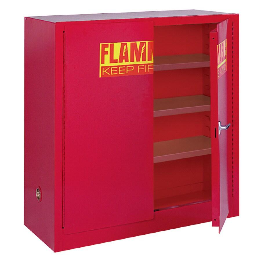 edsal 43-in W x 44-in H x 18-in D Steel Freestanding Garage Cabinet