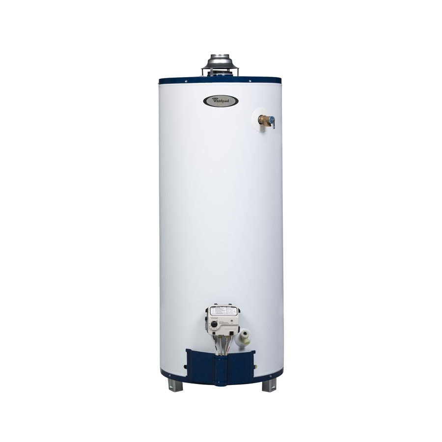 Whirlpool 40-Gallon 6-Year Residential Short Natural Gas Water Heater