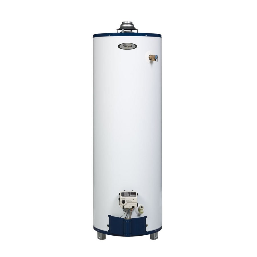 Whirlpool 40-Gallon 6-Year Residential Tall Natural Gas Water Heater