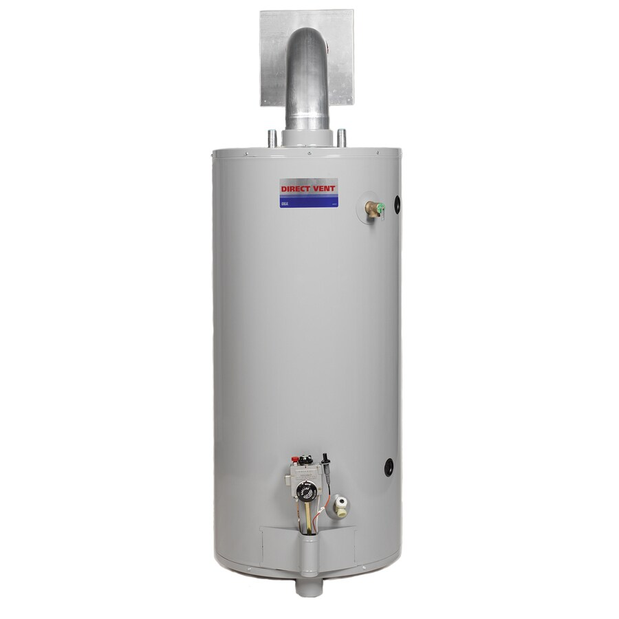 Direct Vent 50-Gallon 6-Year Residential Tall Natural Gas Water Heater