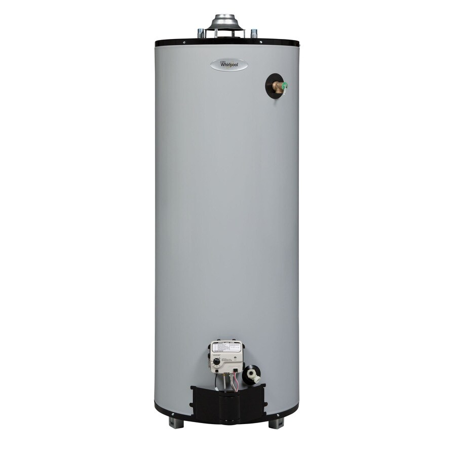Shop Whirlpool 40 Gallon 9 Year Tall Gas Water Heater
