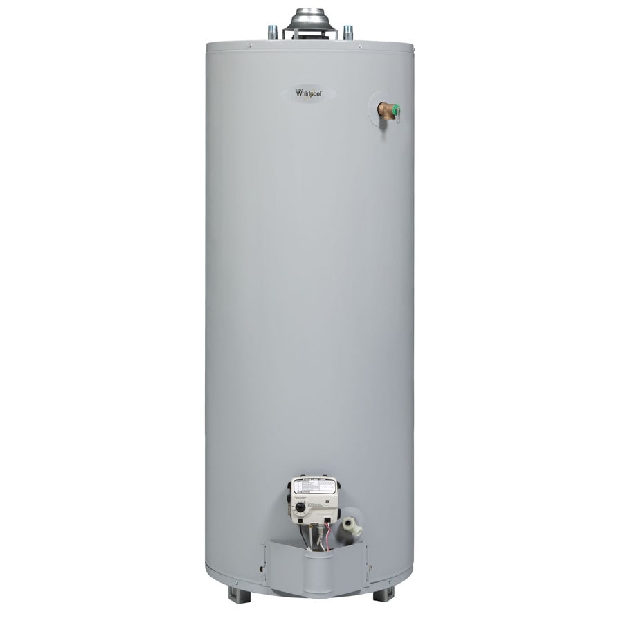 Whirlpool 40-Gallon 6-Year Limited Residential Tall Natural Gas Water Heater