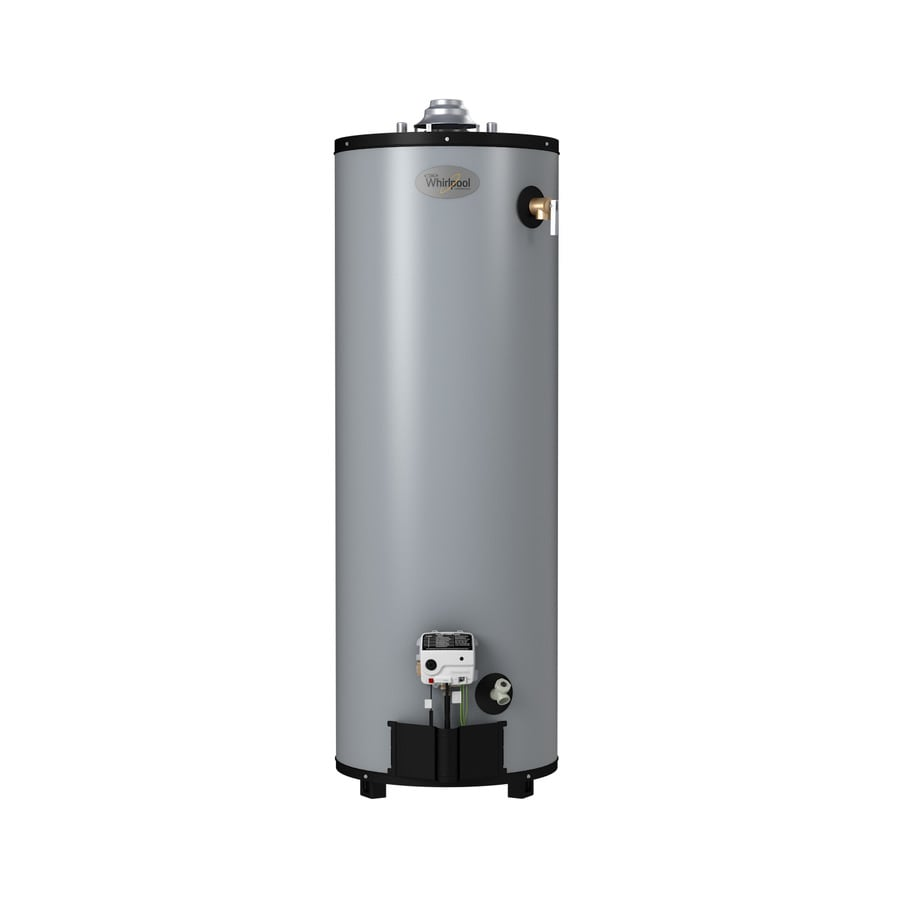 Shop Whirlpool 40 Gallon 9 Year Tall Natural Gas Water