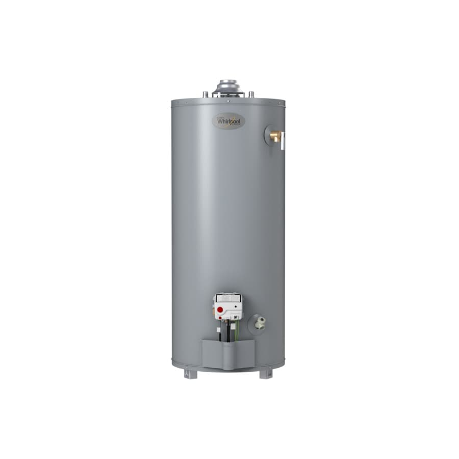 Whirlpool 40-Gallon 6-Year Residential Short Liquid Propane Water Heater