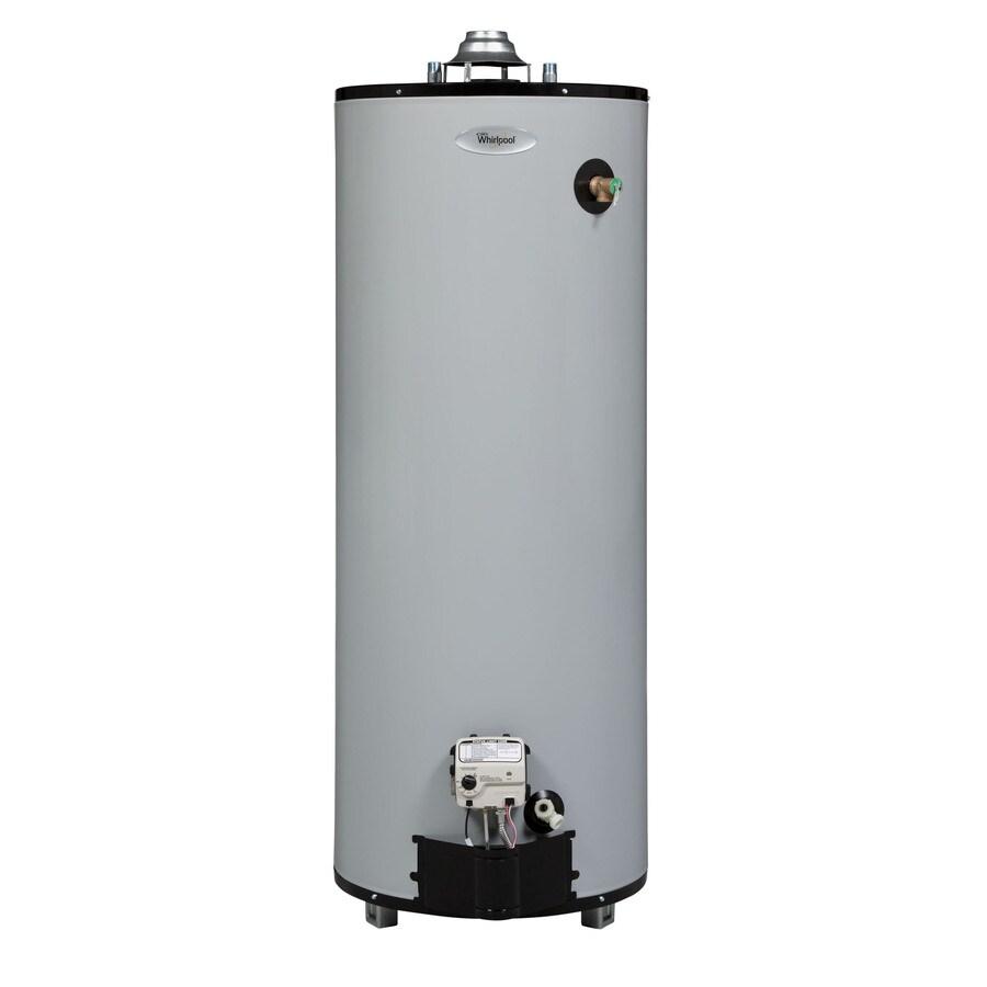 shop whirlpool 50 gallon 9 year tall gas water heater