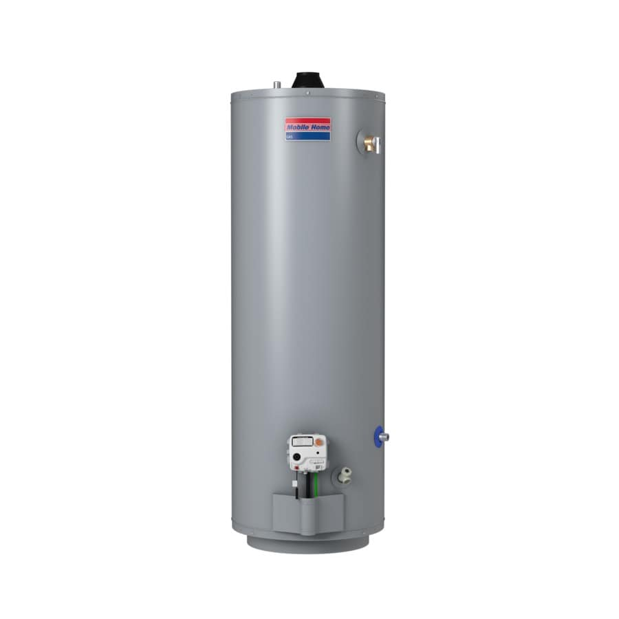 Shop mobile home 30 gallon 6 year residential tall natural Natural gas water heater