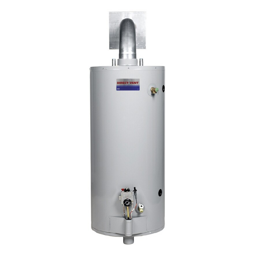 Direct Vent 50-Gallon 6-Year Residential Tall Liquid Propane Water Heater