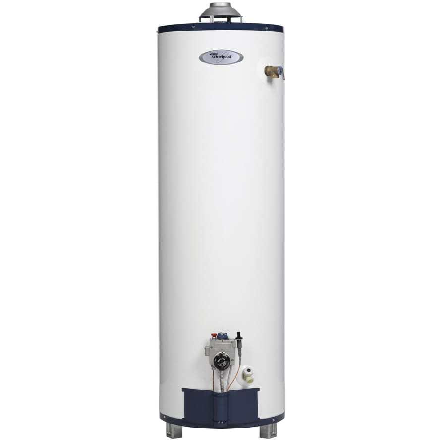 Whirlpool 40-Gallon 6-Year Residential Tall Liquid Propane Water Heater