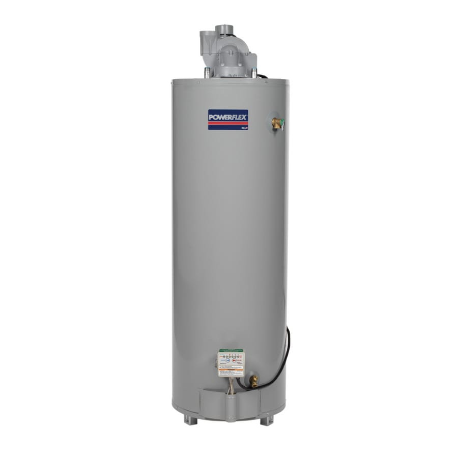 POWERFLEX 50-Gallon 6-Year Residential Tall Natural Gas Water Heater ENERGY STAR