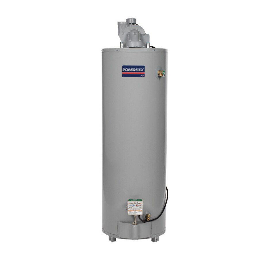 POWERFLEX 50-Gallon 6-Year Residential Tall Liquid Propane Water Heater ENERGY STAR