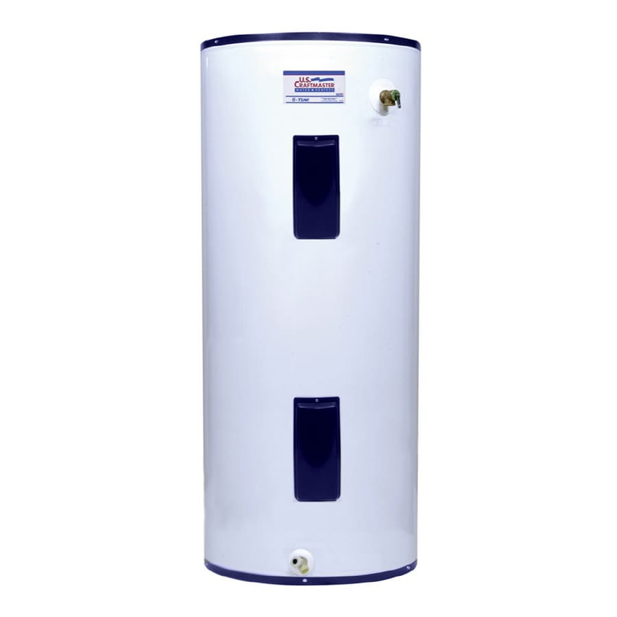 U.S. Craftmaster 119-Gallon 240-Volt 6-Year Residential Regular Electric Water Heater