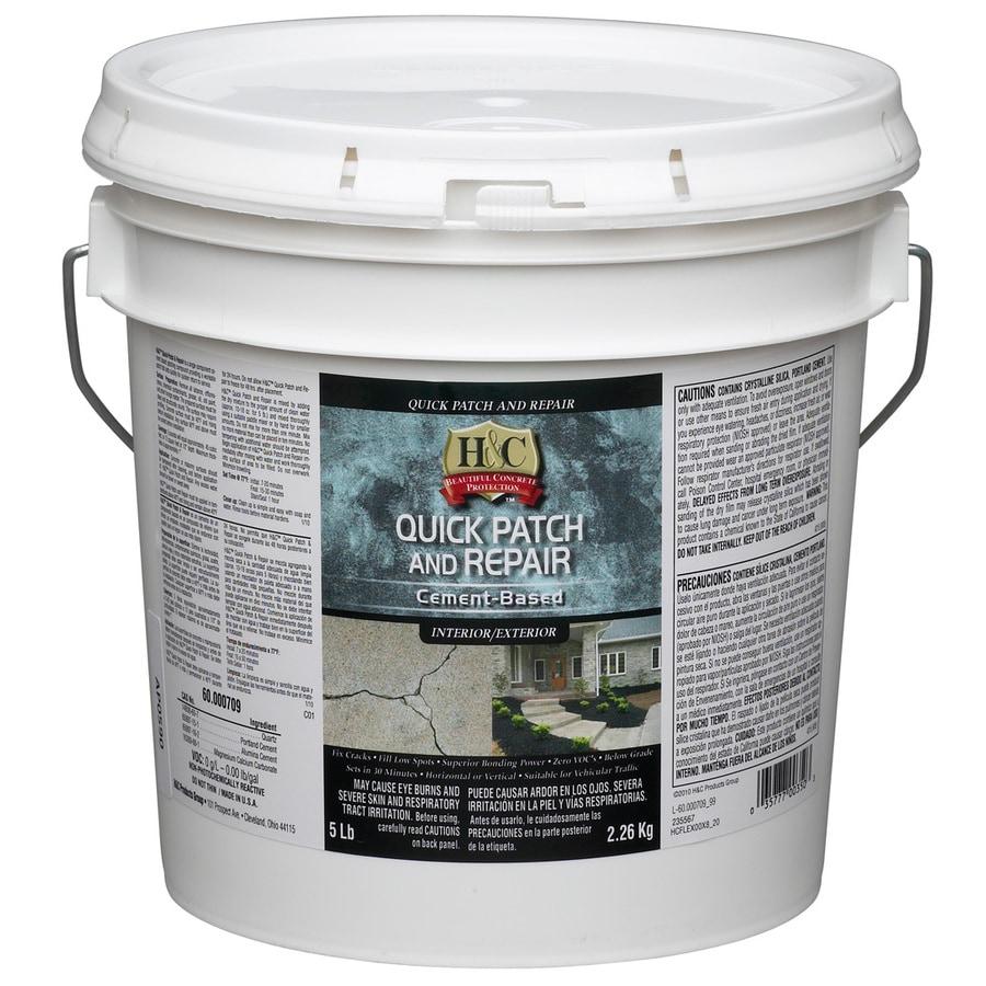 H&C White Quick Patch & Repair Concrete Stain